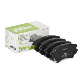 Brake Pad Set, disc brake Width: 142mm, Height: 66,5mm, Thickness: 19mm with OEM Number 1605 434