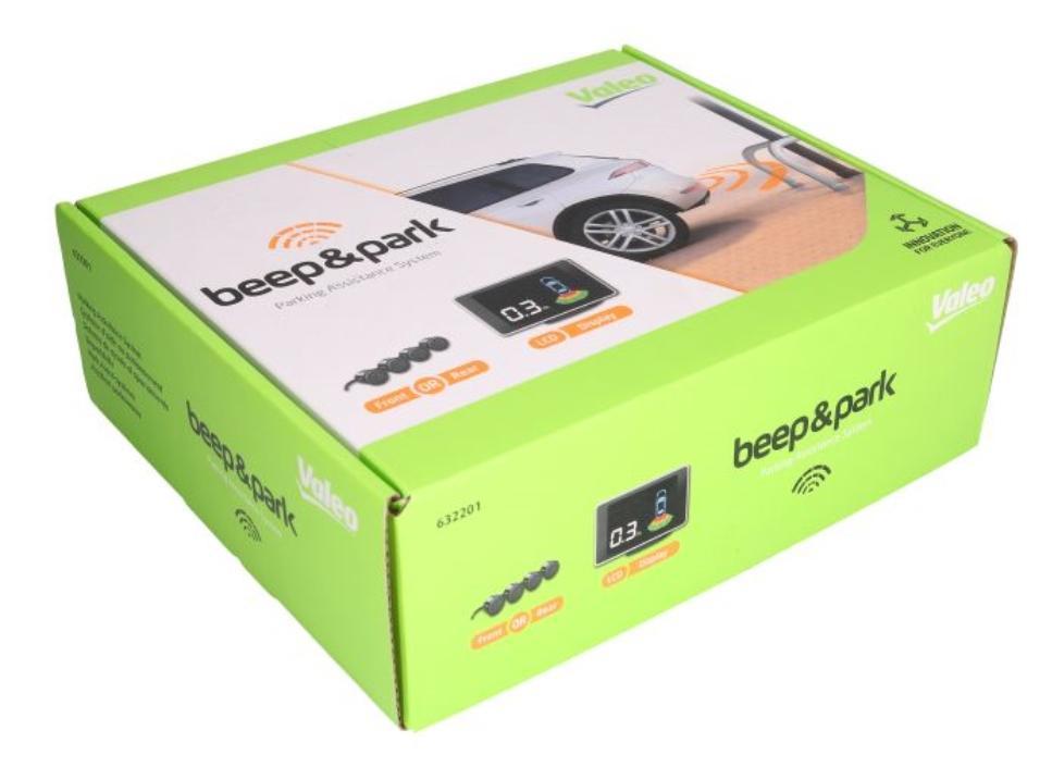 Parking sensors kit VALEO 632201 rating