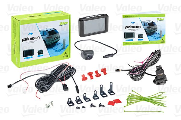 VALEO  632210 Камера за задно виждане, паркинг асистент дисплей: TFT-Thin-film transistor