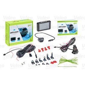 Telecamera di retromarcia per sistema di assistenza al parcheggio Schermo: TFT 632210 FIAT PANDA, PUNTO, 500