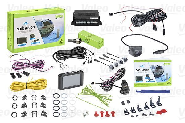VALEO  632211 Rear view camera, parking assist Range to: 1,7m, Screen Display: TFT, Range from: 0,1m