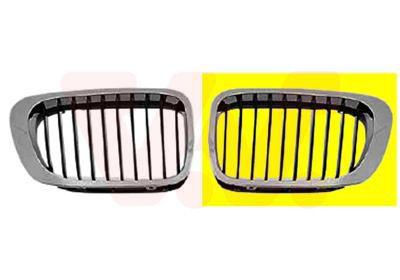 Radiator Grill 0647517 VAN WEZEL 0647517 original quality