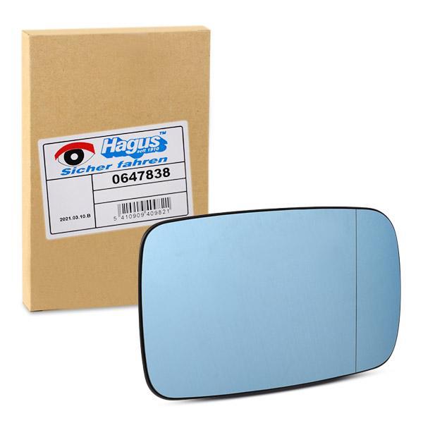 VAN WEZEL Spiegelglas, Außenspiegel rechts 0647838