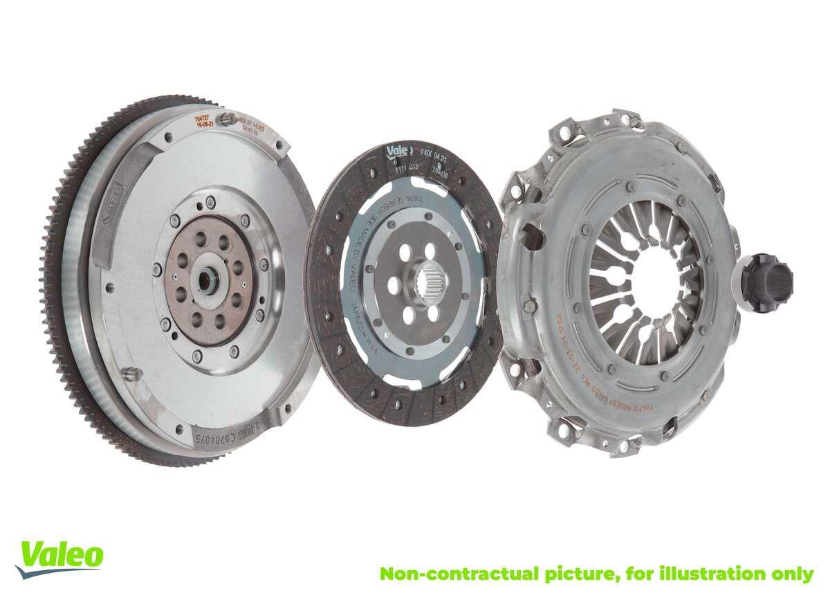 VALEO FULLPACK DMF 837048 Clutch Kit