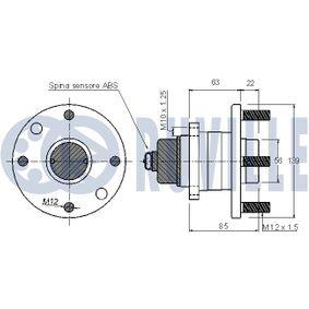 Barra oscilante, suspensión de ruedas con OEM número 204 330 88 11