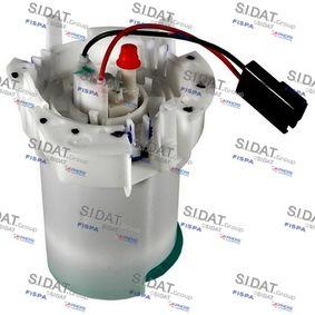 SIDAT Vaso antirollio, Pompa carburante 70333A2 con OEM Numero 815046