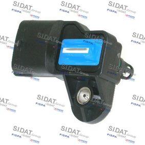 Sensor, pressão de sobrealimentação com códigos OEM 91 58 595