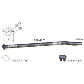 Golf 5 1.4TSI Auspuffrohre ERNST 156417 (1.4 TSI Benzin 2008 CAXA)