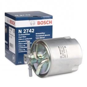 Fuel filter Height: 124mm with OEM Number 16400JX51A