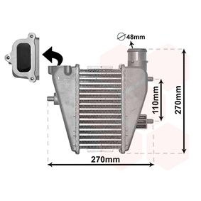 töltőlevegőhűtő Hálózat méter: 105x200x63 25014700