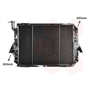 VAN WEZEL Radiador, refrigeración del motor 13002088 con OEM número 21400C8200