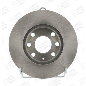 Bremsscheibe Bremsscheibendicke: 20mm, Lochanzahl: 6, Ø: 236mm mit OEM-Nummer 569014
