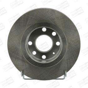 Bremsscheibe Bremsscheibendicke: 24mm, Lochanzahl: 6, Ø: 256mm mit OEM-Nummer 569 008