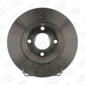 Bremsscheibe Bremsscheibendicke: 13mm, Lochanzahl: 4, Ø: 280mm mit OEM-Nummer 8A0 615 301D