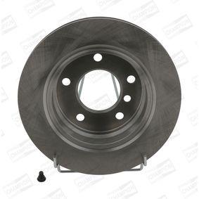 Bremsscheibe Bremsscheibendicke: 19mm, Lochanzahl: 5, Ø: 276mm mit OEM-Nummer 34211165211
