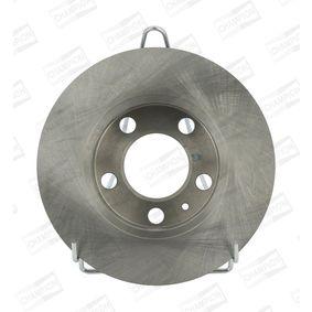 Bremsscheibe Bremsscheibendicke: 9mm, Lochanzahl: 5, Ø: 232mm mit OEM-Nummer JZW 698 601 AC