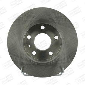 Bremsscheibe Bremsscheibendicke: 10mm, Lochanzahl: 5, Ø: 264mm, Ø: 264mm mit OEM-Nummer 95526658