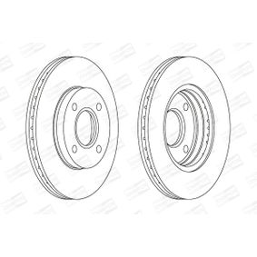 Brake Disc Brake Disc Thickness: 22mm, Num. of holes: 4, Ø: 258mm with OEM Number 98AX112-5B1F