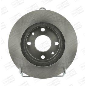 Bremsscheibe Bremsscheibendicke: 20mm, Lochanzahl: 4, Ø: 239mm mit OEM-Nummer 2110 3501 070