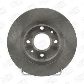 Bremsscheibe Bremsscheibendicke: 22mm, Lochanzahl: 4, Ø: 266mm mit OEM-Nummer 45 41 000