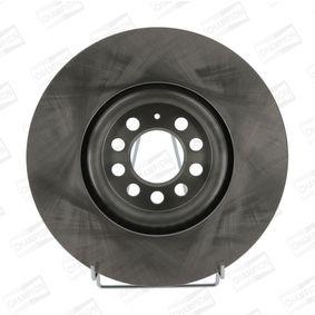 Bremsscheibe Bremsscheibendicke: 25mm, Lochanzahl: 5, Ø: 312mm mit OEM-Nummer 6R0615301B