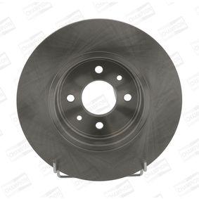 Bremsscheibe Bremsscheibendicke: 12mm, Lochanzahl: 4, Ø: 280mm mit OEM-Nummer 7701 207 227