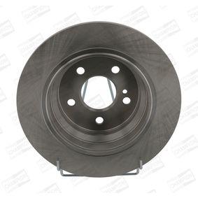 Brake Disc Brake Disc Thickness: 10mm, Num. of holes: 5, Ø: 300mm with OEM Number S517122K100