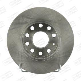 Bremsscheibe Bremsscheibendicke: 12mm, Lochanzahl: 5, Ø: 256mm mit OEM-Nummer 8P0098601N