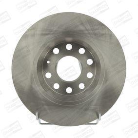 Bremsscheibe Bremsscheibendicke: 12mm, Lochanzahl: 5, Ø: 282mm mit OEM-Nummer 1K 0615 601 AD