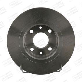 Bremsscheibe Bremsscheibendicke: 12mm, Lochanzahl: 4, Ø: 259mm mit OEM-Nummer 8200 123 117
