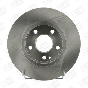 Bremsscheibe Bremsscheibendicke: 12mm, Lochanzahl: 5, Ø: 276mm mit OEM-Nummer A1694210012