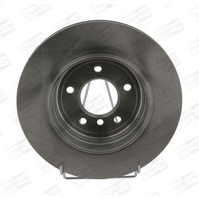 Bremsscheibe Bremsscheibendicke: 22mm, Lochanzahl: 5, Ø: 320mm mit OEM-Nummer 34216855157