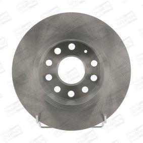 Bremsscheibe Bremsscheibendicke: 10mm, Lochanzahl: 9, Ø: 272mm mit OEM-Nummer 8V0 698 601