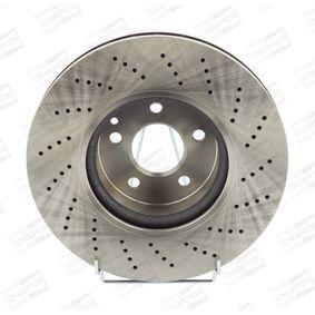 Disco freno Spessore disco freno: 32mm, N° fori: 5, Ø: 322mm, Ø: 322mm con OEM Numero 204 421 1012