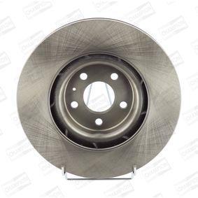 Brake Disc Brake Disc Thickness: 30mm, Num. of holes: 5, Ø: 345mm, Ø: 345mm with OEM Number 8K0 615 301 Q