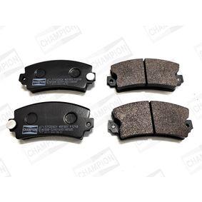 Bremsbelagsatz, Scheibenbremse Breite: 49mm, Dicke/Stärke: 15mm mit OEM-Nummer 3411 2339 270