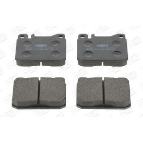 Bremsbelagsatz, Scheibenbremse Breite: 74mm, Dicke/Stärke: 17,5mm mit OEM-Nummer 0014200520