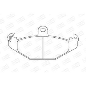 Bremsbelagsatz, Scheibenbremse Breite: 59mm, Dicke/Stärke: 14,8mm mit OEM-Nummer 77 01 203 124