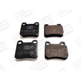Bremsbelagsatz, Scheibenbremse Breite: 55mm, Dicke/Stärke: 15,5mm mit OEM-Nummer 3102 54042