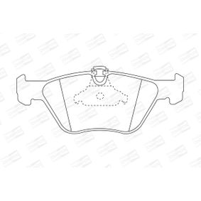 Bremsbelagsatz, Scheibenbremse Breite: 64mm, Dicke/Stärke: 19,5mm mit OEM-Nummer 34112282416