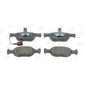 Bremsbelagsatz, Scheibenbremse Breite: 50mm, Dicke/Stärke: 17mm mit OEM-Nummer 9 947 600