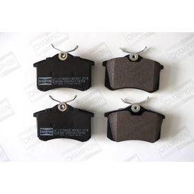Bremsbelagsatz, Scheibenbremse Breite: 53mm, Dicke/Stärke: 17mm mit OEM-Nummer 2Q0 698 451