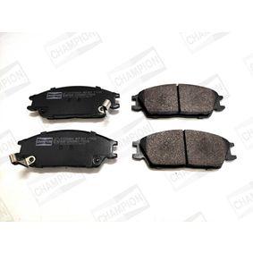 Bremsbelagsatz, Scheibenbremse Breite: 49mm, Dicke/Stärke 1: 15,5mm, Dicke/Stärke: 15,9mm mit OEM-Nummer 58101-25A00