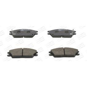 Bremsbelagsatz, Scheibenbremse Breite: 50mm, Dicke/Stärke: 14,8mm mit OEM-Nummer 58101 24B00