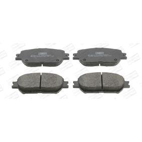 Bremsbelagsatz, Scheibenbremse Breite: 58,7mm, Dicke/Stärke: 17mm mit OEM-Nummer 0446533250