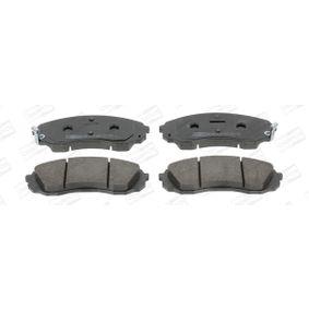 Bremsbelagsatz, Scheibenbremse Breite: 64mm, Dicke/Stärke 1: 17,7mm, Dicke/Stärke: 18,2mm mit OEM-Nummer 58101 4DA00