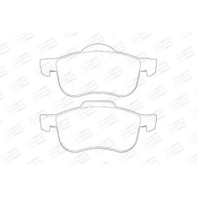 Brake Pad Set, disc brake Width: 69mm, Thickness: 18,8mm with OEM Number 86 349 214