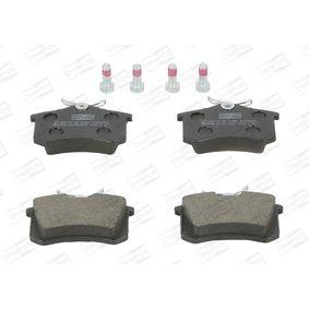 Bremsbelagsatz, Scheibenbremse Breite: 53mm, Dicke/Stärke: 17mm mit OEM-Nummer 1619790680