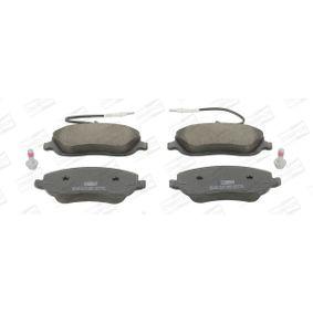 Bremsbelagsatz, Scheibenbremse Breite: 60mm, Dicke/Stärke: 19,4mm mit OEM-Nummer 7 736 676 1