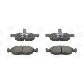 Bremsbelagsatz, Scheibenbremse Breite: 52,5mm, Dicke/Stärke: 17,8mm mit OEM-Nummer 71738152